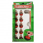 Red/White Stripe Subbuteo Player Set