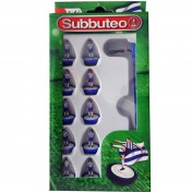 Blue/White Subbuteo Player Set