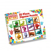 The World of Dinosaur Roar 35 Piece Puzzle