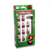Red/White/Black Subbuteo Player Set